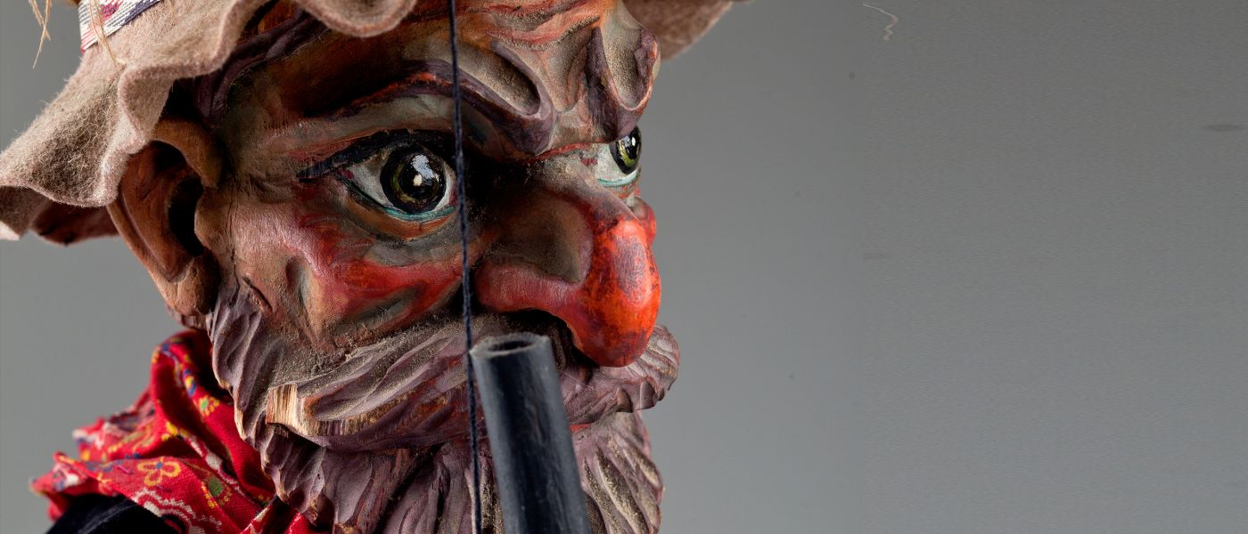 Antique marionettes