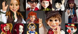 Cartoon Marionettes