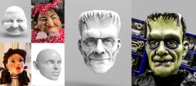 Heads  (for 3D printing)