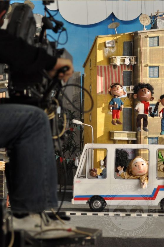 foto: Marionettes special made for vodafone advertising in Egypt