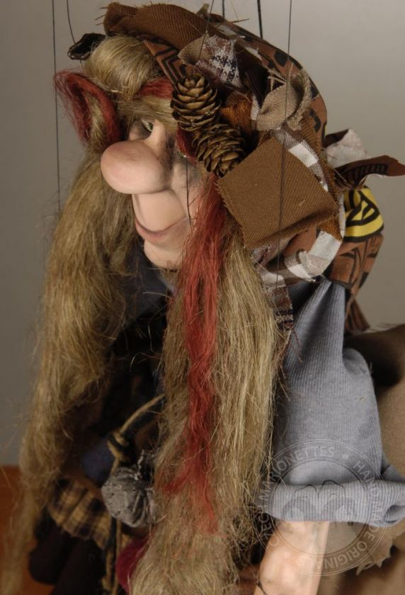 foto: Marionette of Old Spiritual witch