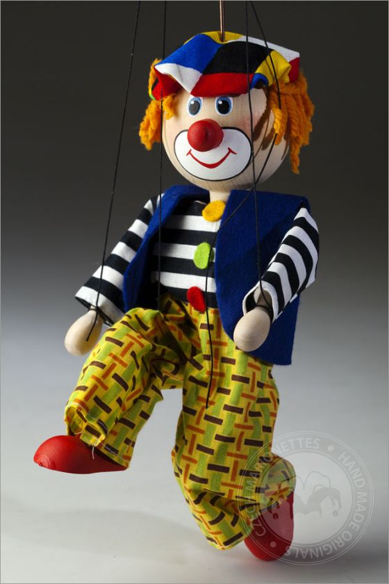 foto: Coloured Clown Marionette