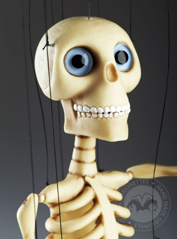Baby Bonnie Skeleton Professional Marionette Czech