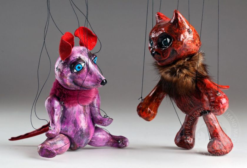 foto: Cat and Mouse Czech Marionettes