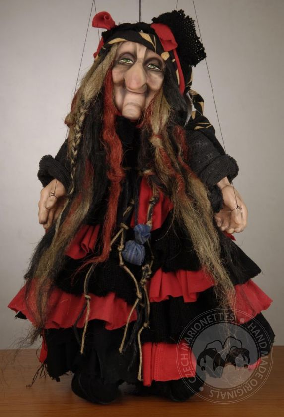 foto: Cute Witch Puppet