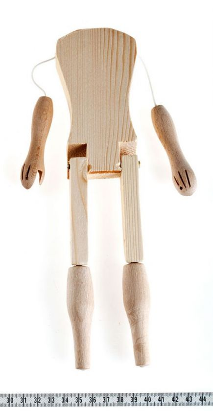foto: Marionette making: Female body 26 cm
