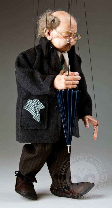 foto: Old Man Joe Marionette Puppet