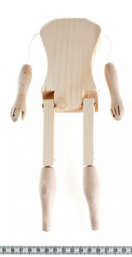 foto: Marionette making: Male body 26 cm