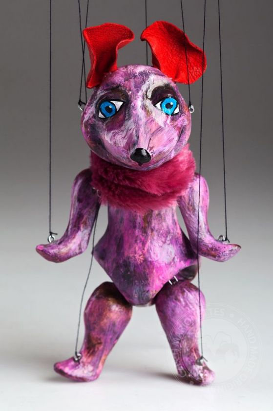 foto: Mouse the Comedian Marionette