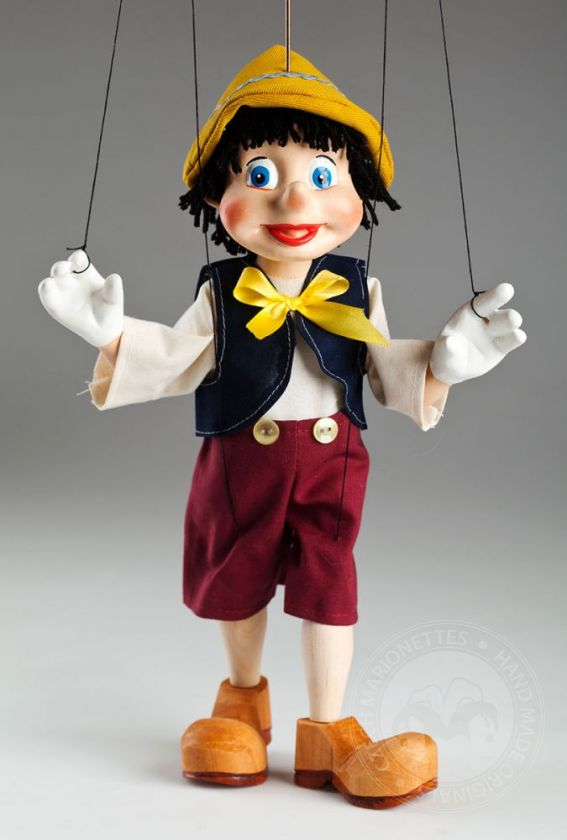 foto: Young Pinocchio Czech Marionette