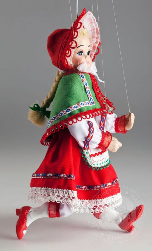 foto: Little Red Riding Hood Marionette