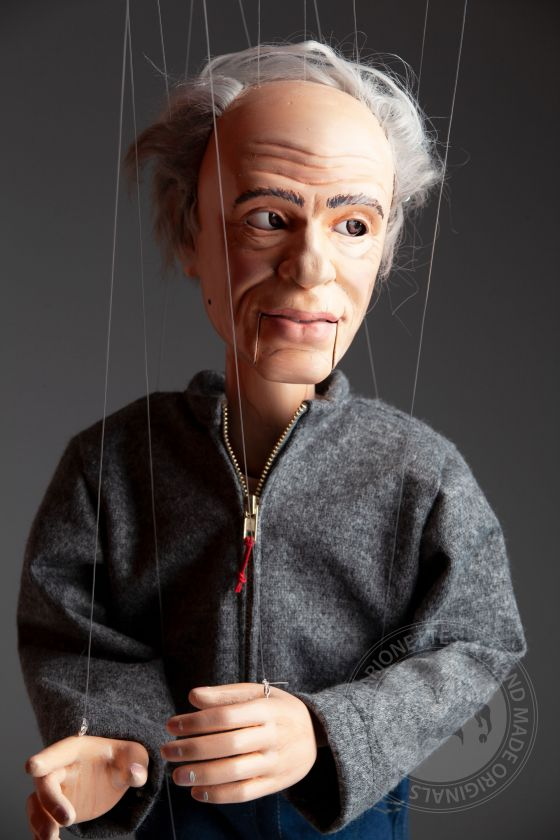 Portrait marionette - 60cm (24inch), movable mouth