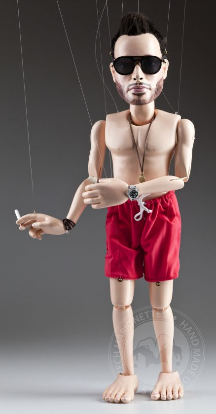 Custom marionette - made based on a photo - 60cm
