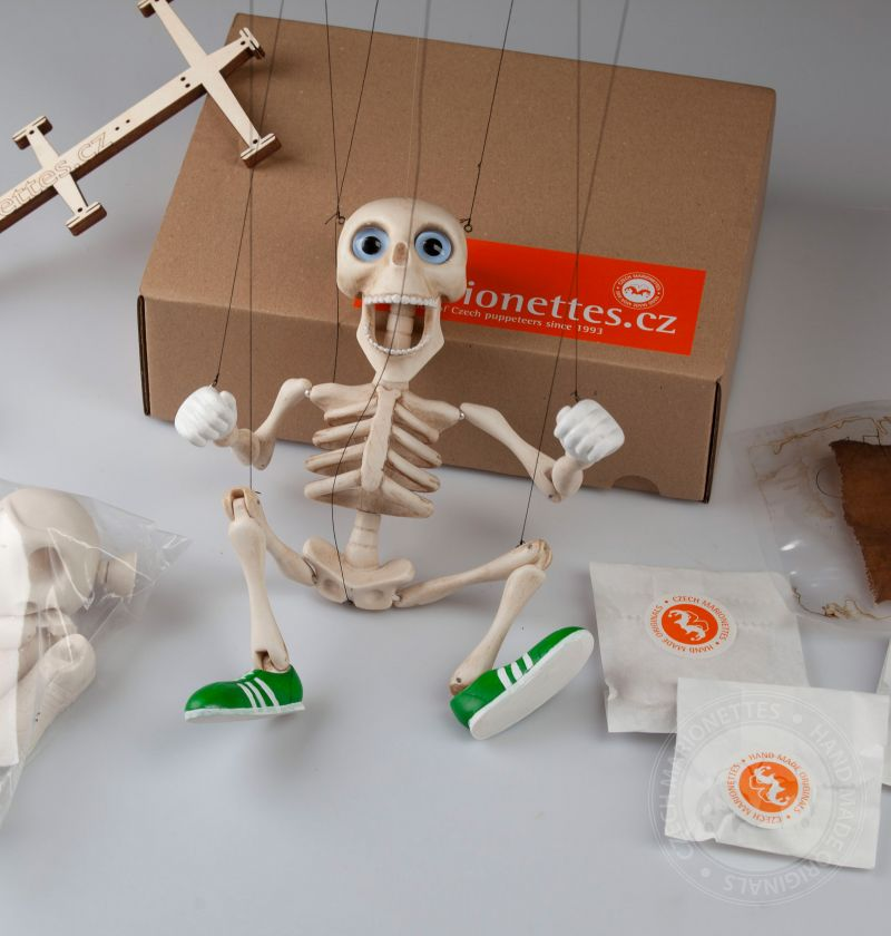Baby Bonnie  DIY kit - assemble your own string puppet