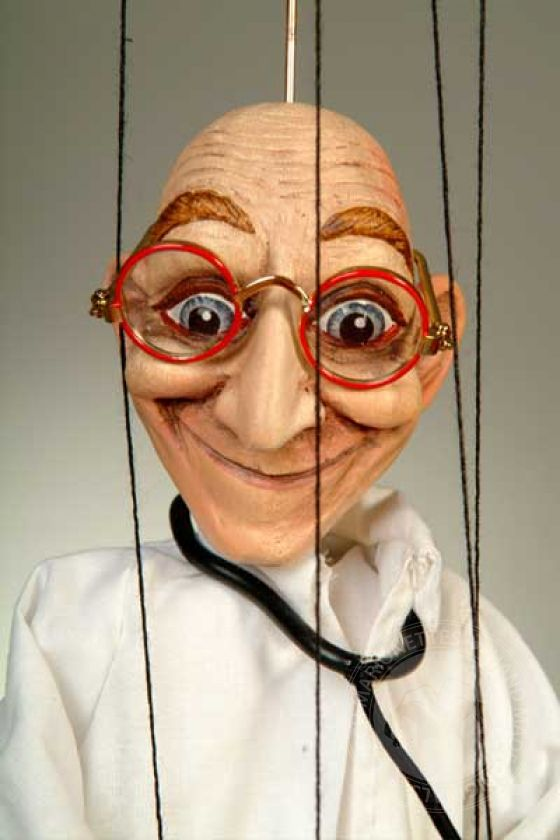 Baby Doctor Marionette
