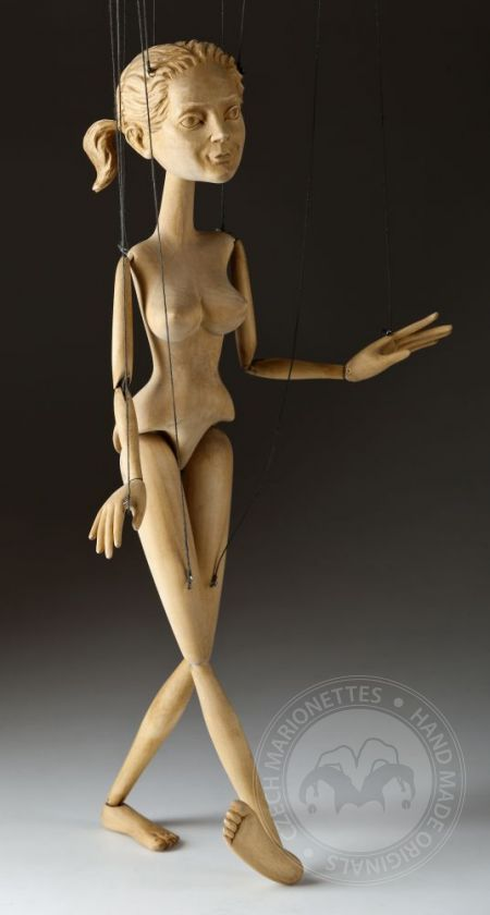 Nymph – hand carved
