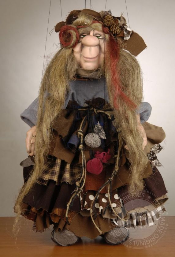 Marionette of Old Spiritual witch