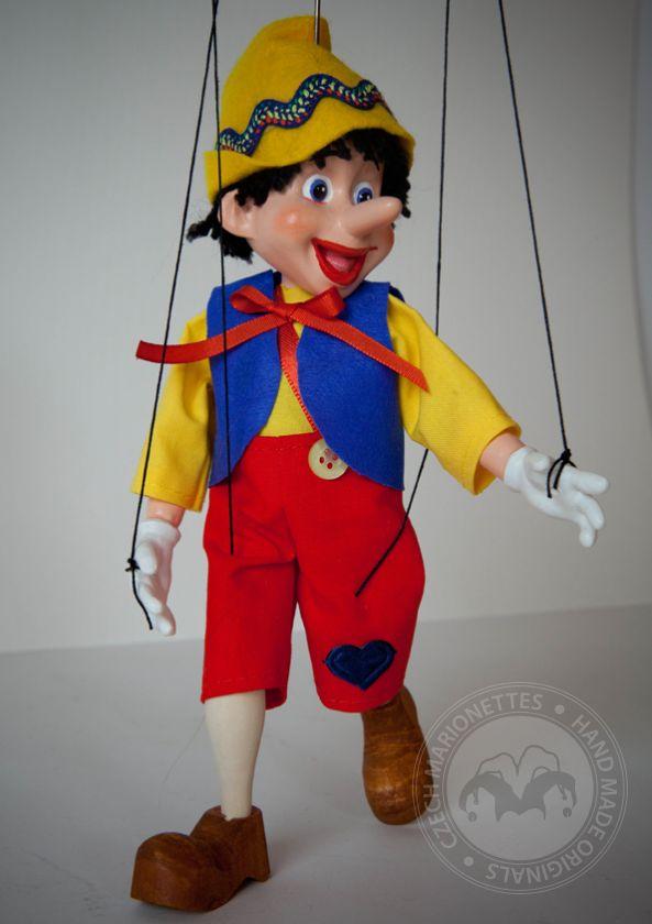 Small Pinocchio Marionette