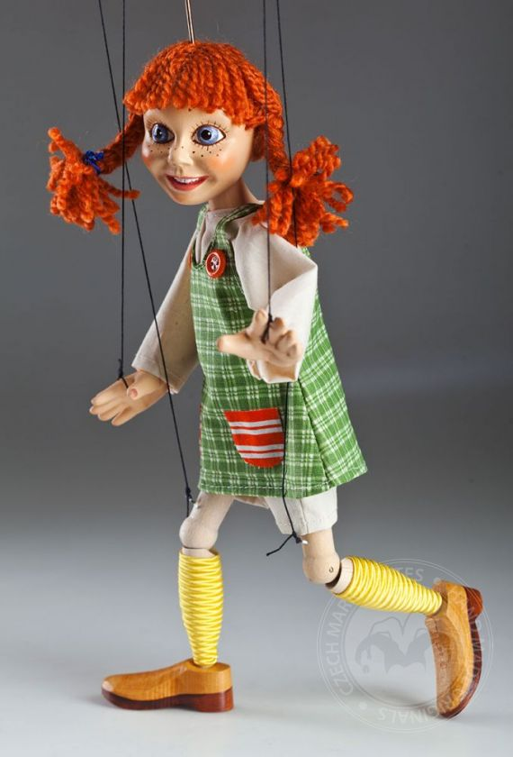 Marionette look like Pippi Longstocking