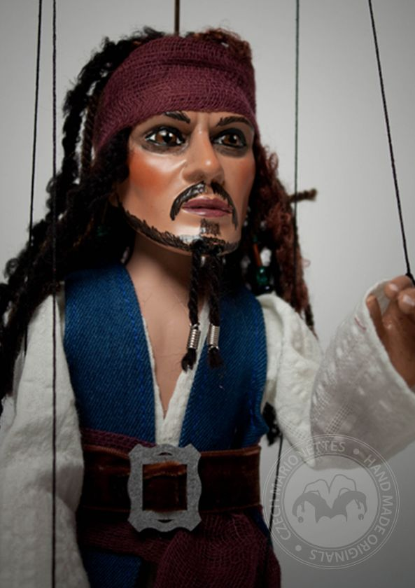 Pirate Marionette Jack Sparrow
