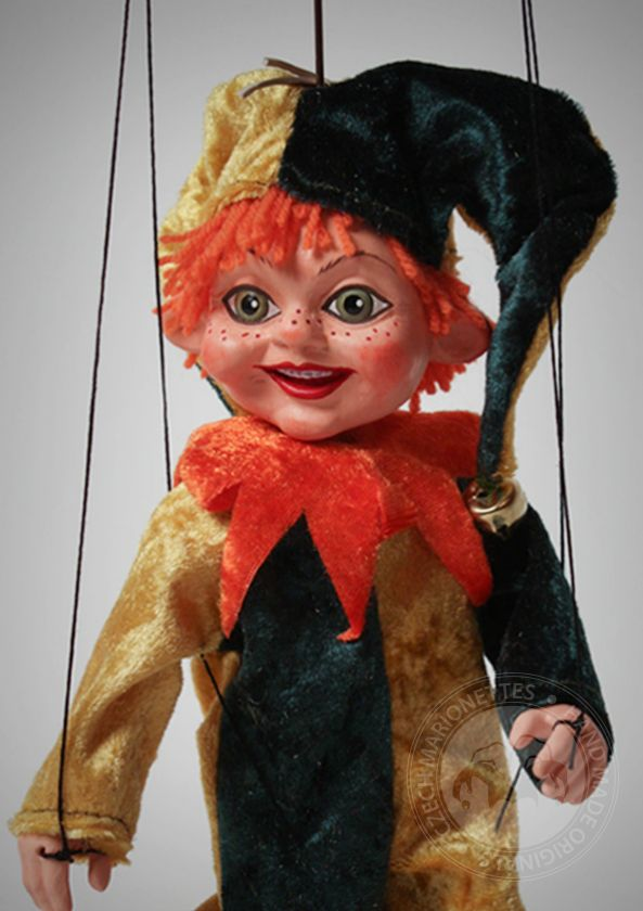 Little Jester Marionette