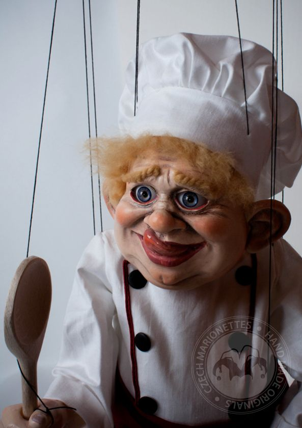 Cook Large Marionette