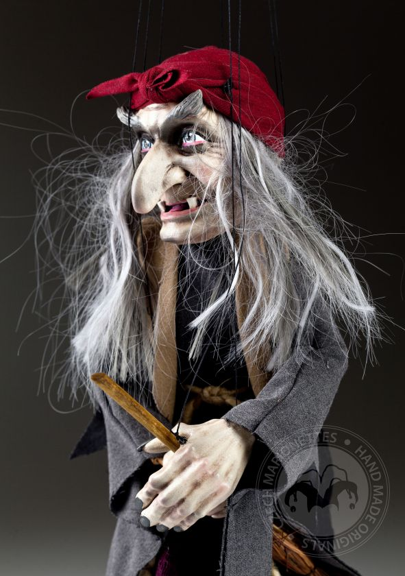 Witch Marionette with Headband