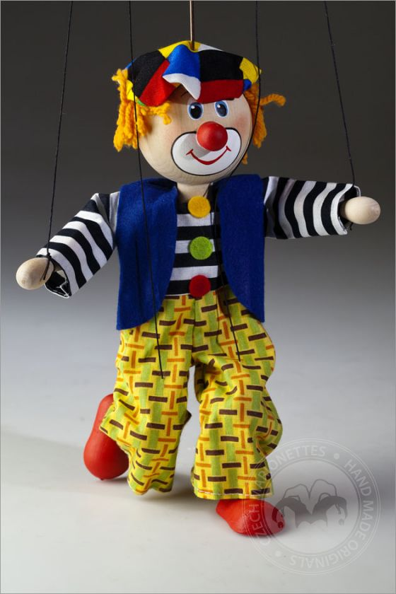 foto: Coloured beret Clown Marionette