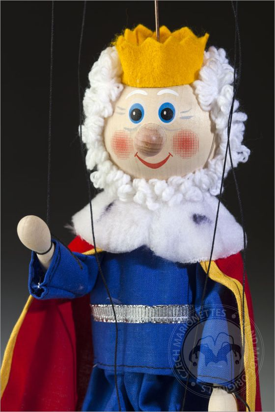 King Florian – Wooden puppet