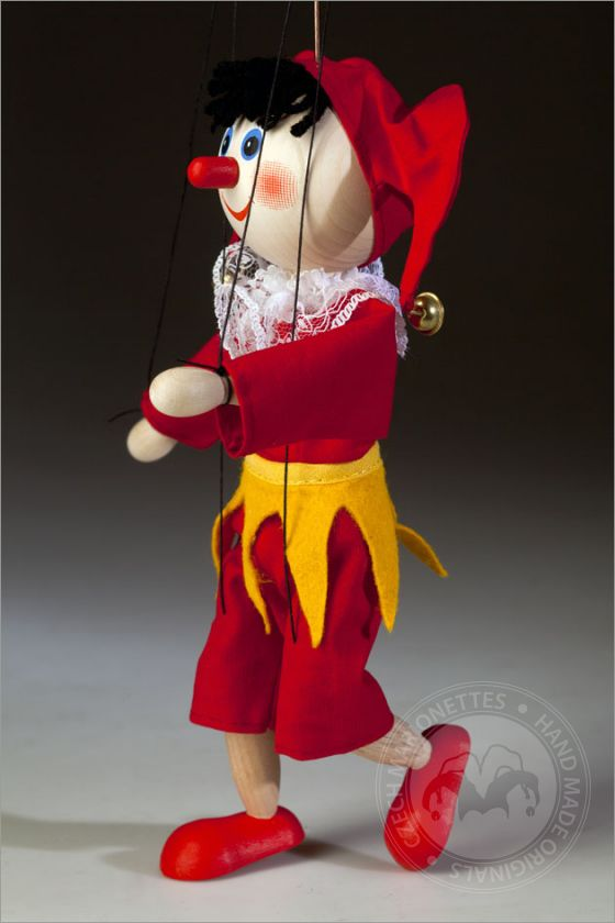 foto: Red nose Jester Marionette