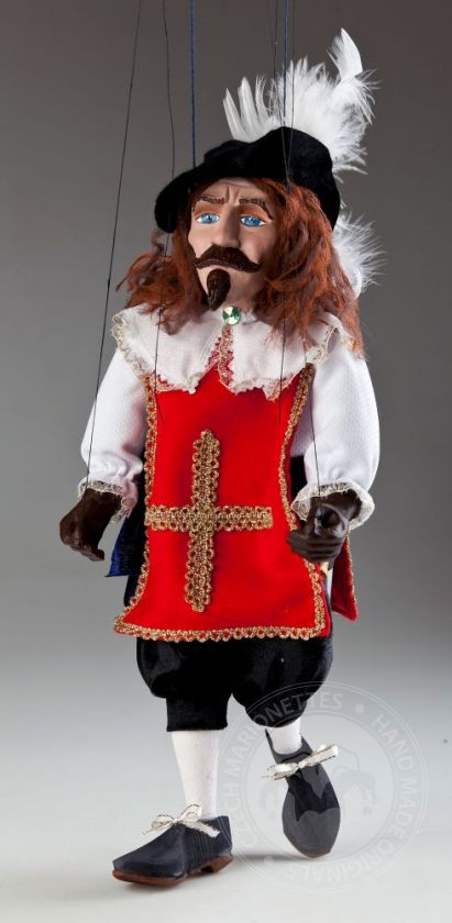 Musketeer Andre Czech Marionette Puppet