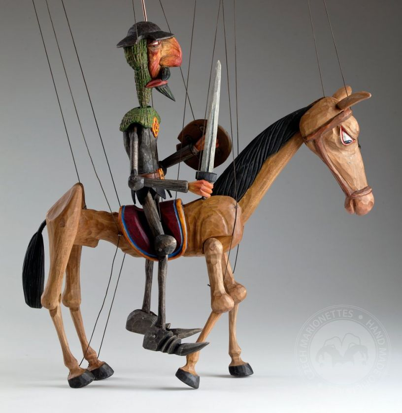 Don Quichotte and Rocinante Horse