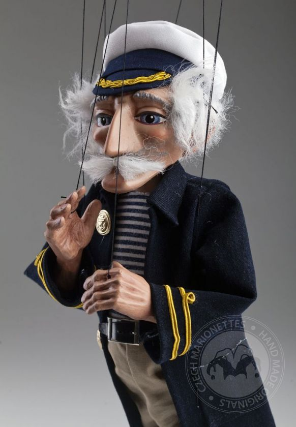 foto: The Sea Wolf Sailor Czech Marionette Puppet