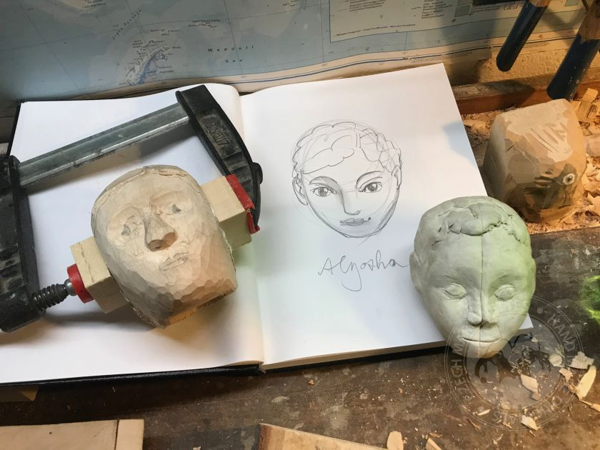 Art of Marionette Hand Carving - 7day course