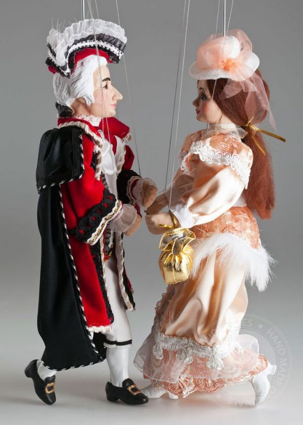 Baroque Couple Marionettes