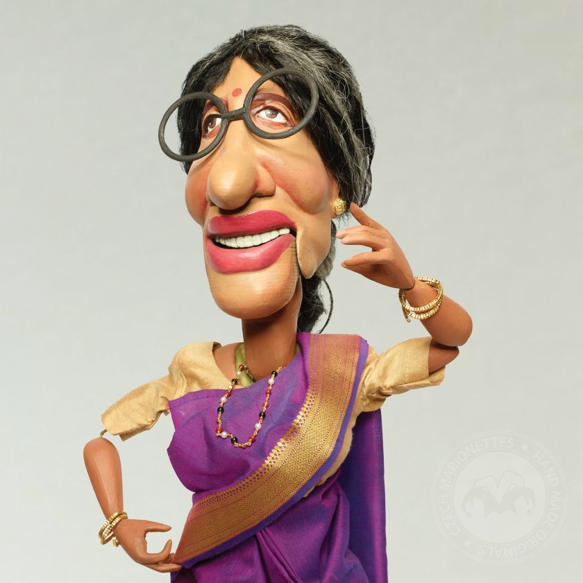 foto: Amitabh Bachchan Marionettes made for Indian advertising