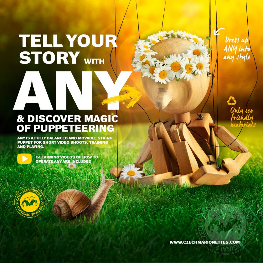 foto: ANY 1 - EXPLORE THE MAGIC OF PUPPETEERING