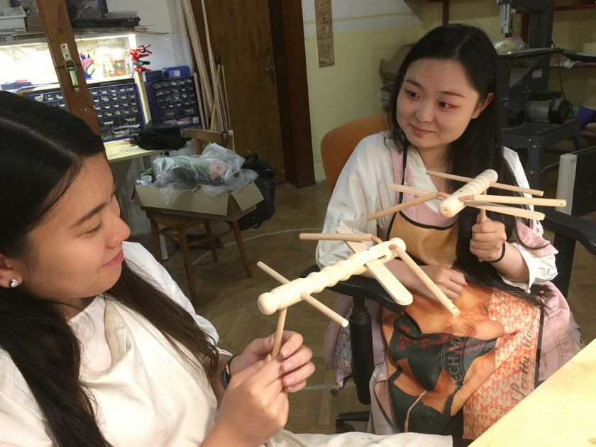 Make and learn to use marionette – workshop