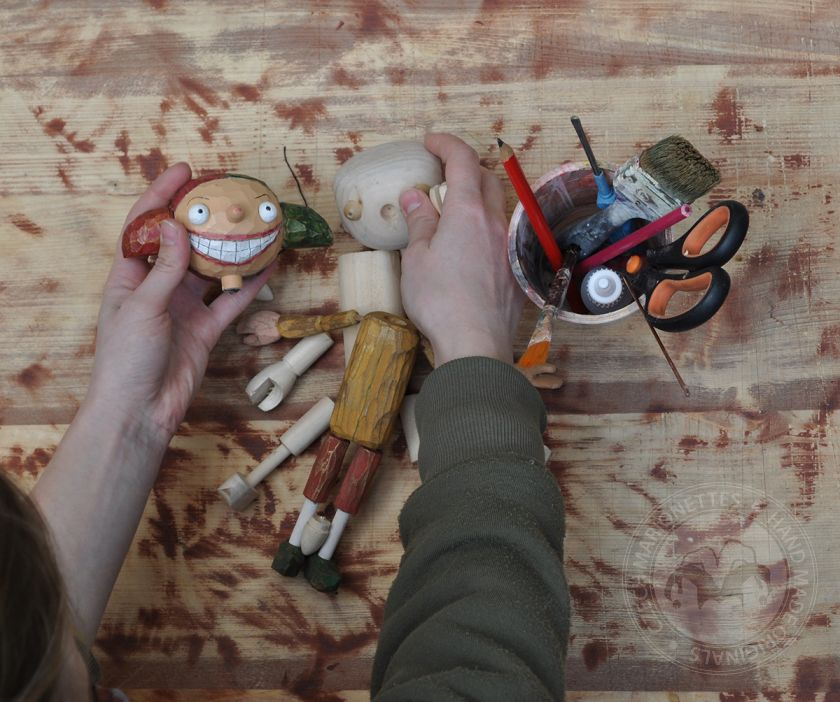 Make Little Rascal puppet