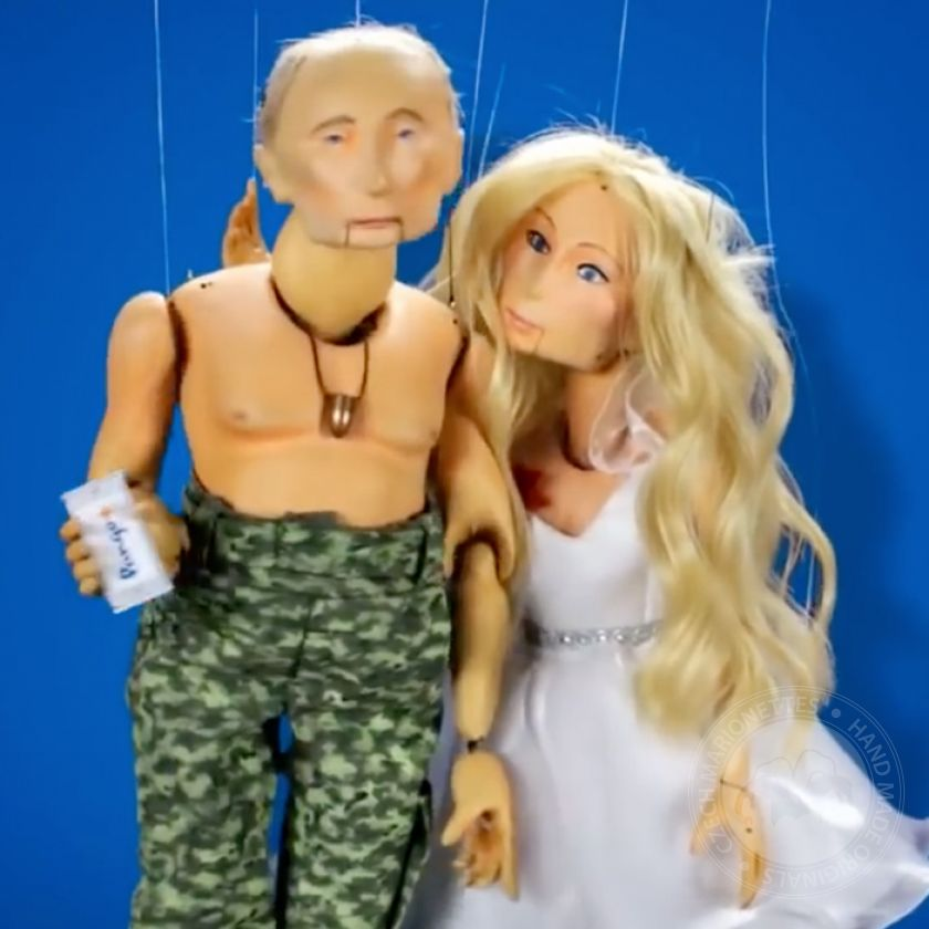 foto: Animation Home - Pango - Putin and his daughter