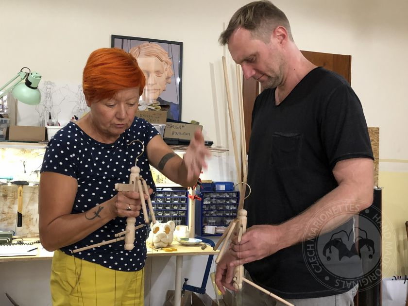 Teaching teachers to teach using puppetry - 5-day workshop