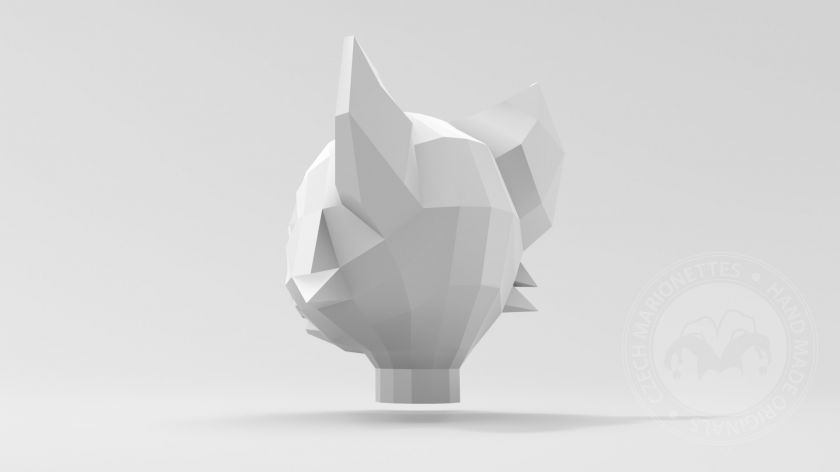 foto: Fox - low poly