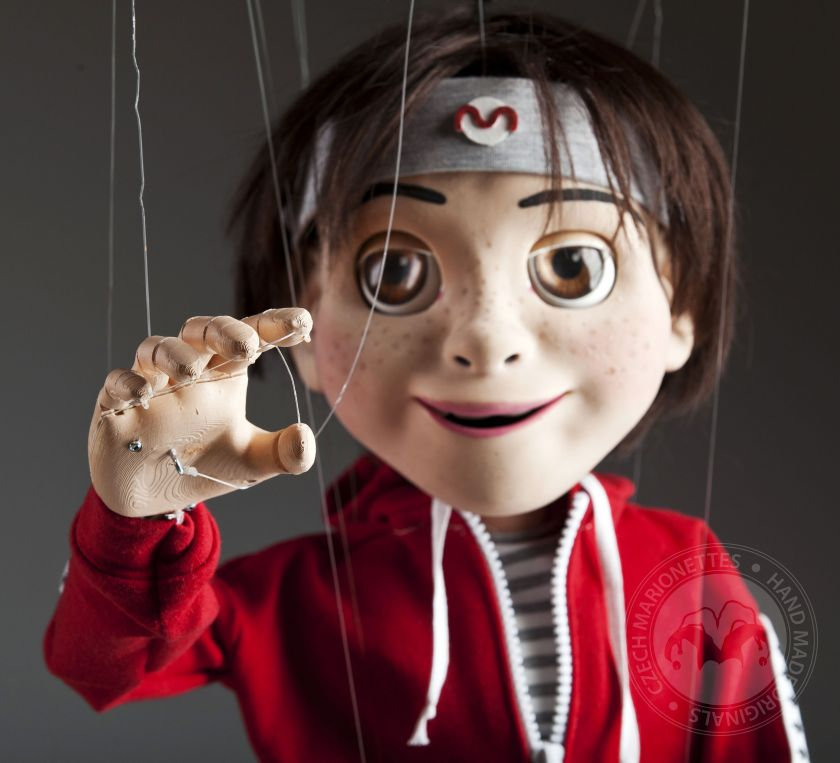 Moody - Supermarionation Puppe mit Roboterfunktionen