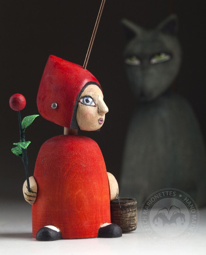 Marionnette du Petit Chaperon Rouge – SOLD OUT