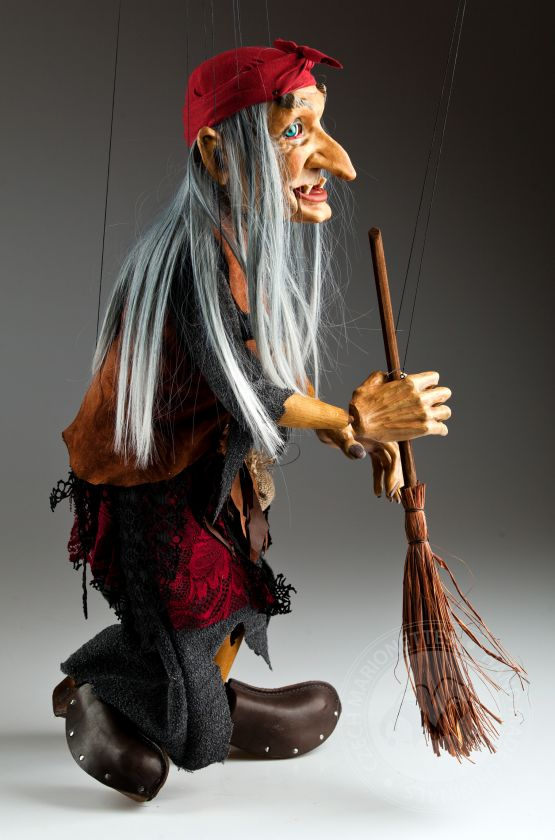 Large Witch Marionette