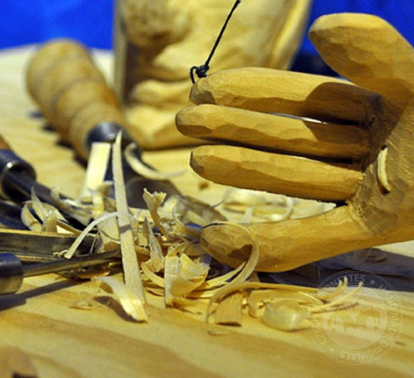 Make your hand carved marionette with Ales and Adam - 7 days course