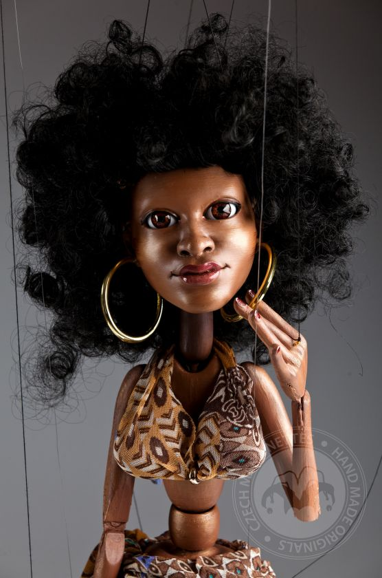 foto: Afro Dancer - performance marionette - 50pcs limited edition