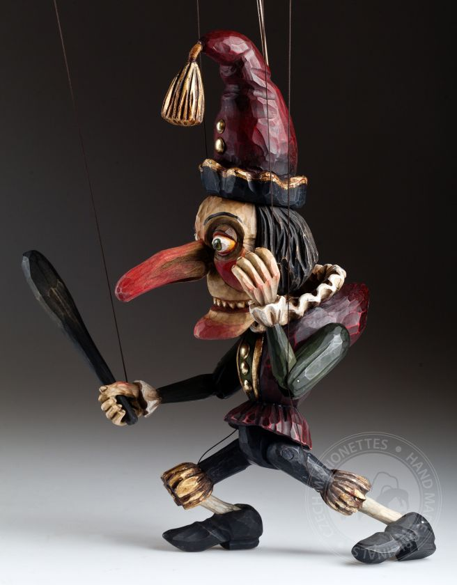foto: Hand carved Mr. Punch