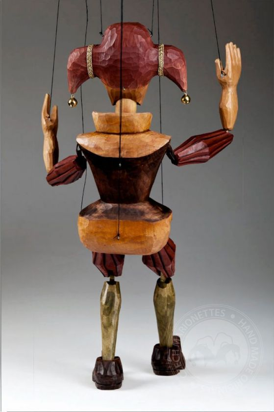 foto: Jester Marionette Puppet