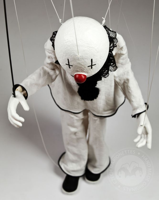 Past custom project - Pierrot marionette